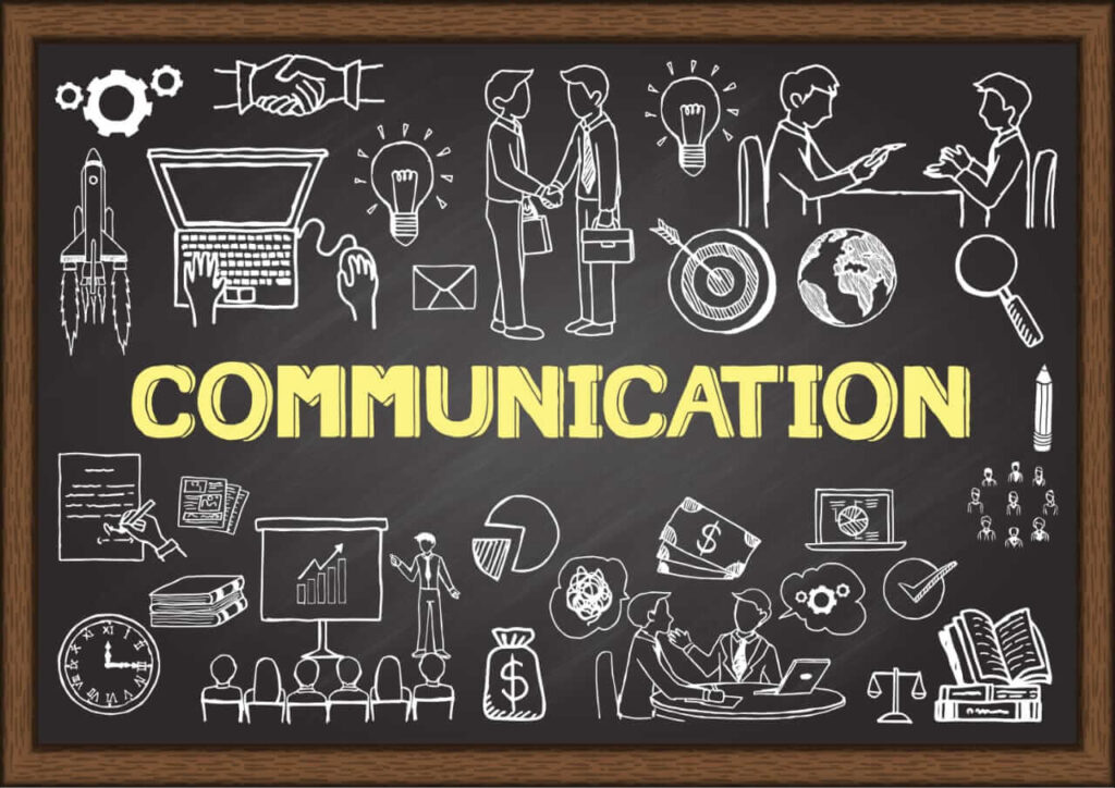 pic shows communication